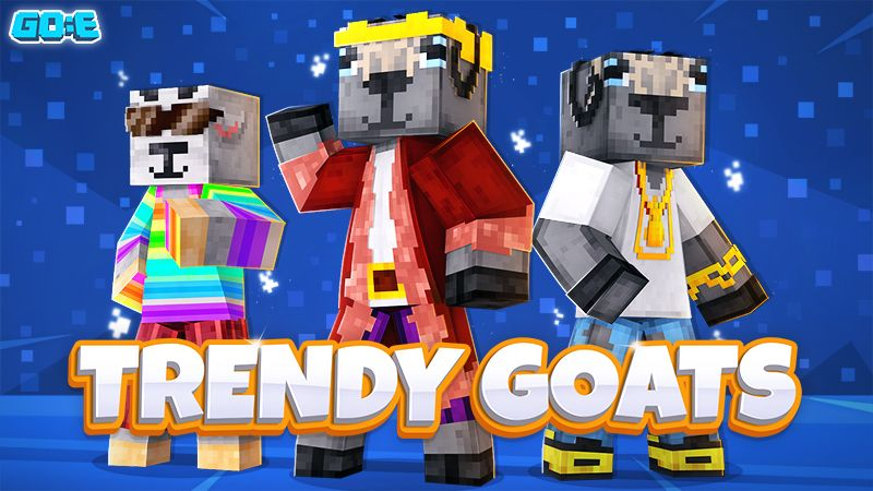 Trendy Goats on the Minecraft Marketplace by GoE-Craft