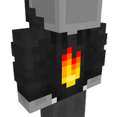 Flame Hoodie on the Minecraft Marketplace by Dodo Studios