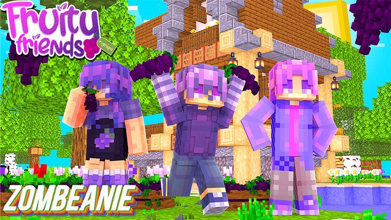 Fruity Friends Grape on the Minecraft Marketplace by Zombeanie