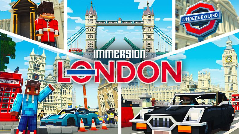 Immersion London on the Minecraft Marketplace by Shapescape