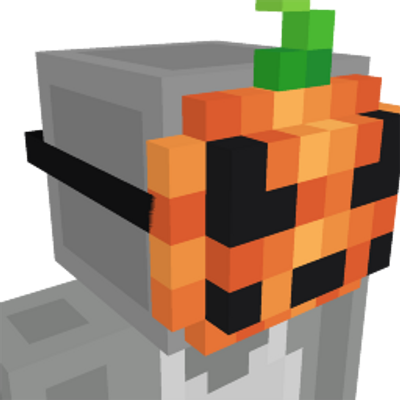 Pumpkin Mask on the Minecraft Marketplace by Glorious Studios