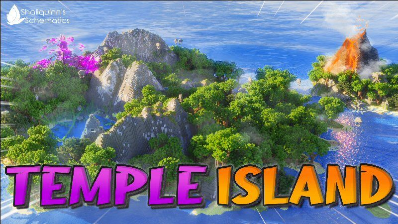 Temple Island on the Minecraft Marketplace by Shaliquinn's Schematics