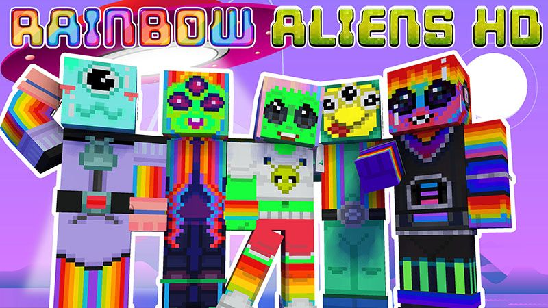 Rainbow Aliens HD