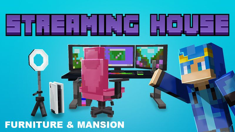 Streaming House on the Minecraft Marketplace by Mine-North