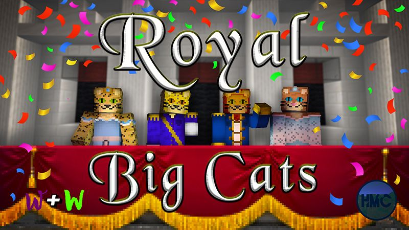 Royal Big Cats on the Minecraft Marketplace by The Wizard and Wyld