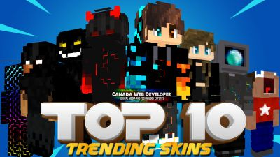 TOP 10 on the Minecraft Marketplace by CanadaWebDeveloper