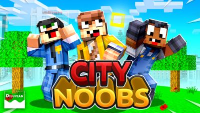 City Noobs on the Minecraft Marketplace by Diluvian