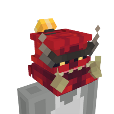 Demon Head on the Minecraft Marketplace by Glorious Studios