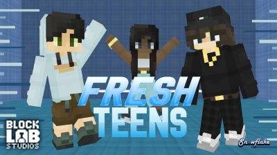 Fresh Fashion Teens on the Minecraft Marketplace by BLOCKLAB Studios