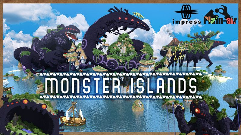 Monster Islands on the Minecraft Marketplace by Impress