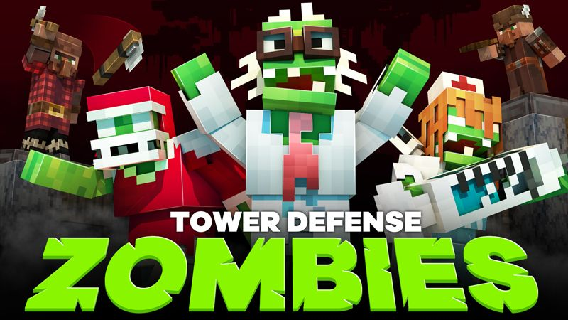 Zombies Tower Defense on the Minecraft Marketplace by HorizonBlocks