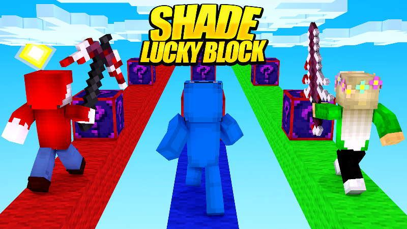 Shade Lucky Block on the Minecraft Marketplace by Doctor Benx