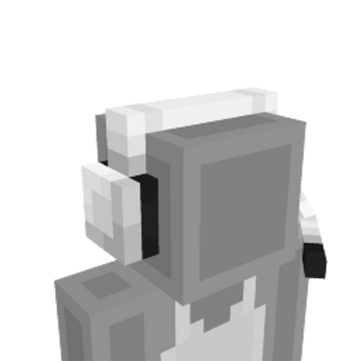 Black  White Headset on the Minecraft Marketplace by CreatorLabs