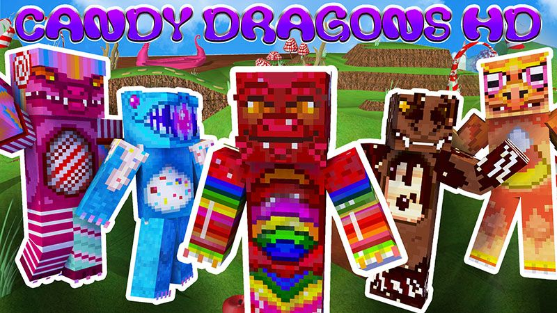 Candy Dragons HD on the Minecraft Marketplace by Appacado