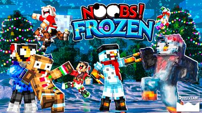 Noobs Frozen on the Minecraft Marketplace by Diluvian