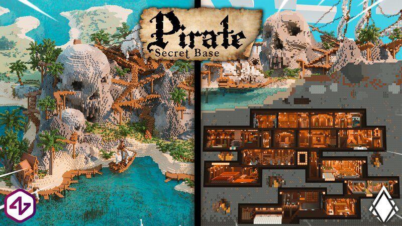 Pirate Secret Base on the Minecraft Marketplace by 4KS Studios