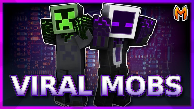 Viral Mobs on the Minecraft Marketplace by Metallurgy Blockworks