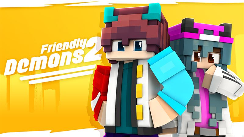 Friendly Demons 2 on the Minecraft Marketplace by Glowfischdesigns