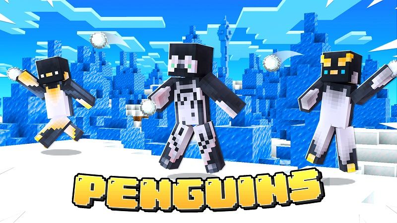 Penguins on the Minecraft Marketplace by Nitric Concepts