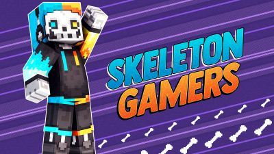 Skeleton Gamers on the Minecraft Marketplace by 57Digital