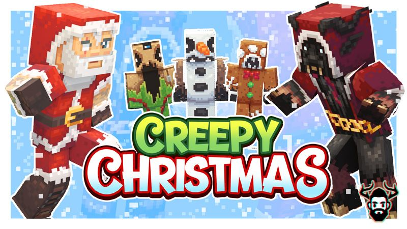 Creepy Christmas on the Minecraft Marketplace by Mike Gaboury