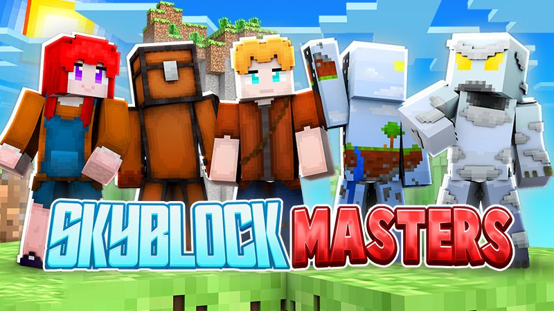SkyBlock Masters on the Minecraft Marketplace by The Lucky Petals