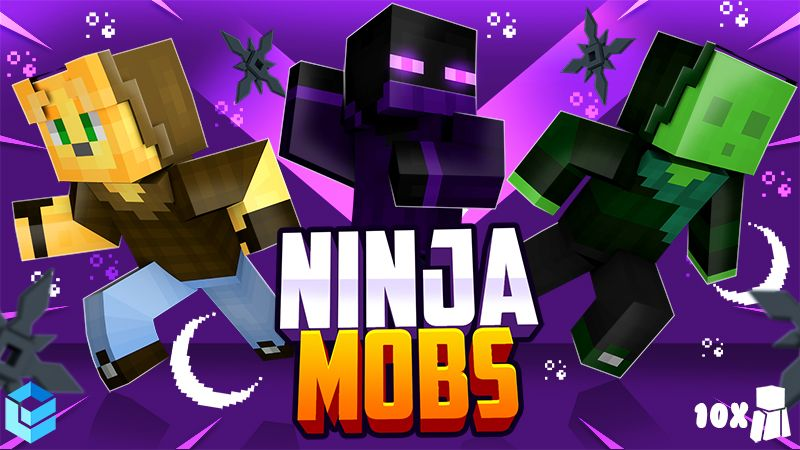 Ninja Mobs on the Minecraft Marketplace by Entity Builds