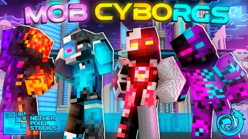Mob Cyborgs on the Minecraft Marketplace by Netherpixel