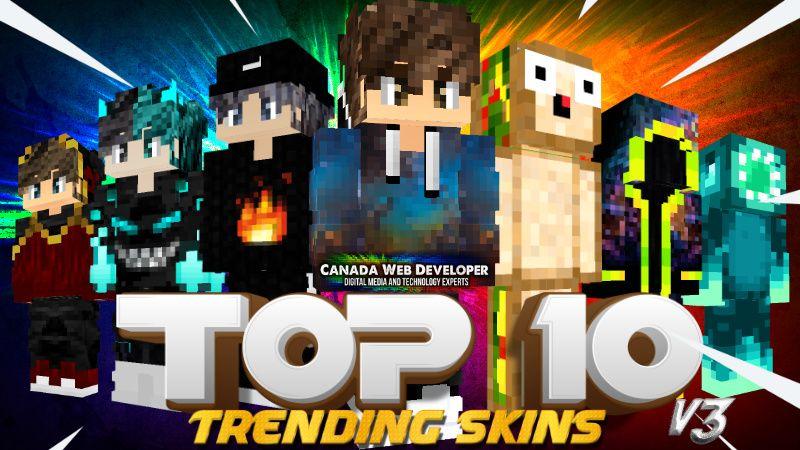 TOP 10 V3 on the Minecraft Marketplace by CanadaWebDeveloper