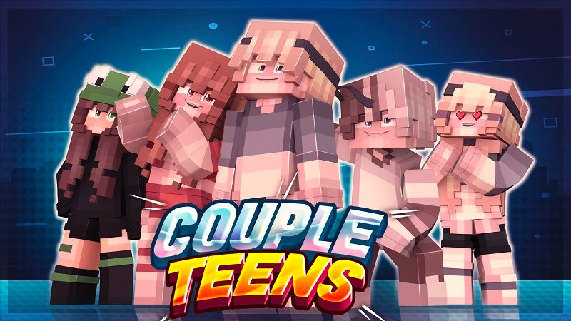 Couple Teens on the Minecraft Marketplace by Cypress Games