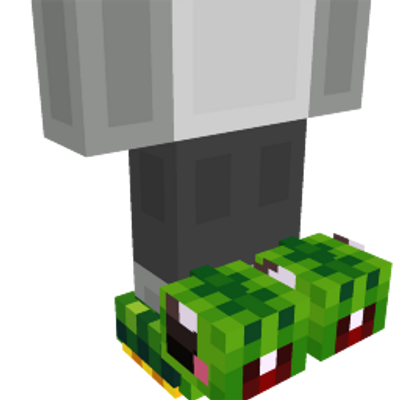 Turtle Slippers on the Minecraft Marketplace by Scai Quest