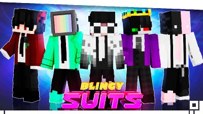 Blingy Suits on the Minecraft Marketplace by inPixel