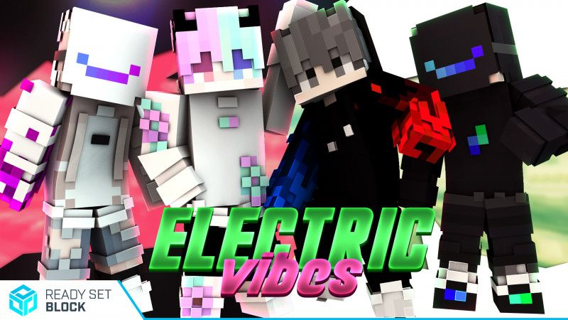 Electric Vibes on the Minecraft Marketplace by Ready, Set, Block!