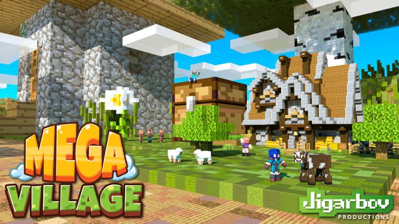 MEGA Village on the Minecraft Marketplace by Jigarbov Productions