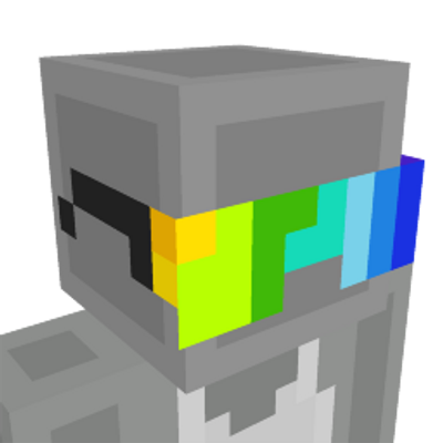 Rainbow Glasses on the Minecraft Marketplace by Panascais