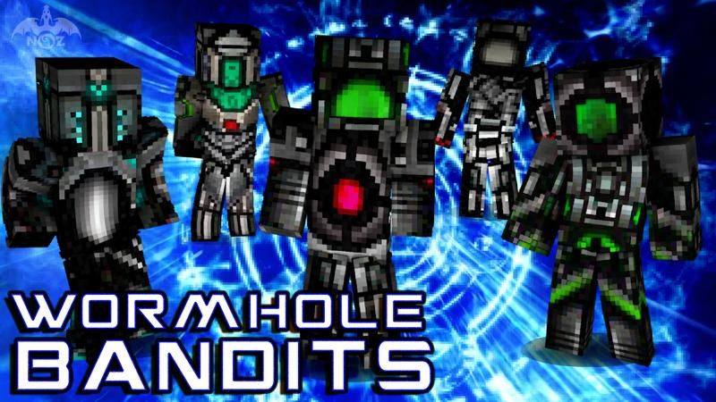 Wormhole Bandits on the Minecraft Marketplace by Dragnoz