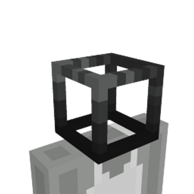 Black Wireframe Head on the Minecraft Marketplace by Jigarbov Productions