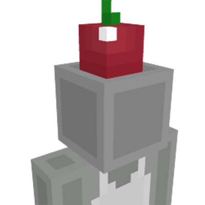 Apple Hat on the Minecraft Marketplace by Kuboc Studios