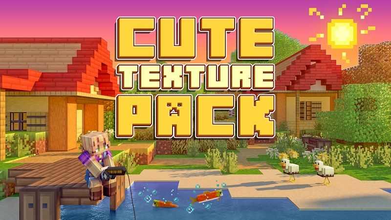 Cute Texture Pack on the Minecraft Marketplace by BBB Studios