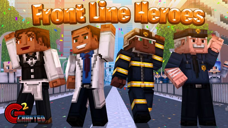 Front Line Heroes on the Minecraft Marketplace by G2Crafted
