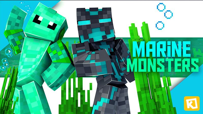 Marine Monsters on the Minecraft Marketplace by Kuboc Studios
