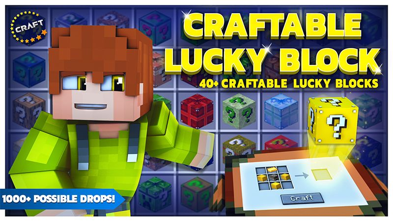 Craftable Lucky Block on the Minecraft Marketplace by The Craft Stars