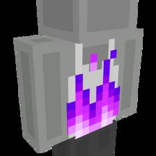 RGB Fire Top Purple