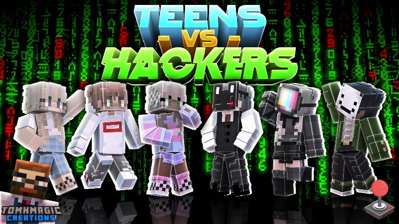 Teens vs Hackers on the Minecraft Marketplace by Tomhmagic Creations