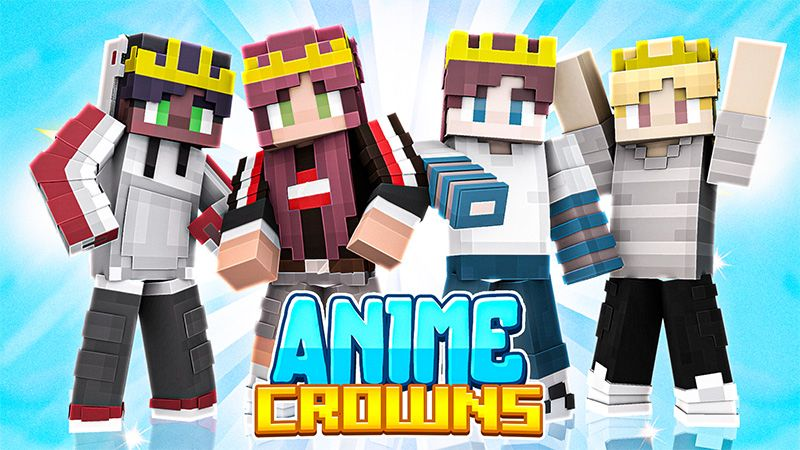 Anime Crowns on the Minecraft Marketplace by Odyssey Builds