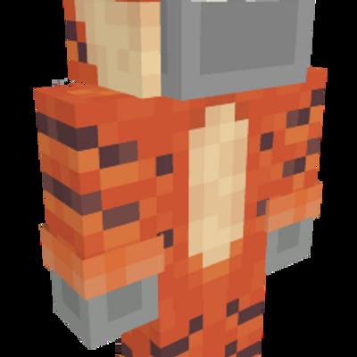 Tiger Onesie on the Minecraft Marketplace by stonemasons