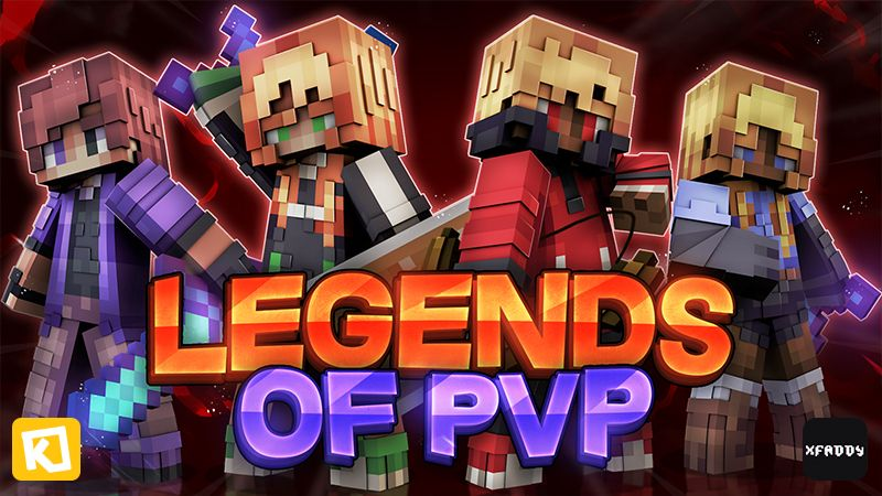 Legends Of PVP on the Minecraft Marketplace by Kuboc Studios