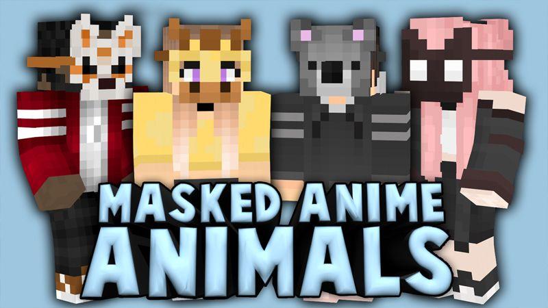 Masked Anime Animals