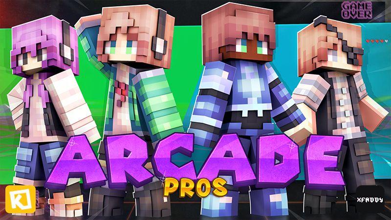 Arcade Pros on the Minecraft Marketplace by Kuboc Studios
