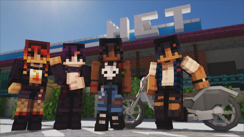Grunge Bikers on the Minecraft Marketplace by CubeCraft Games